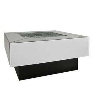Robbins Luxury Mirrored Coffee Table With Storage