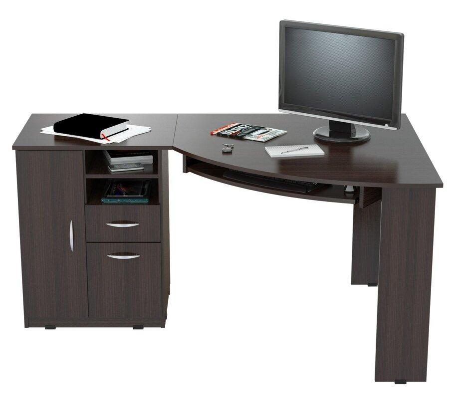 white desk product latitude run durango computer desk reviews wayfair
