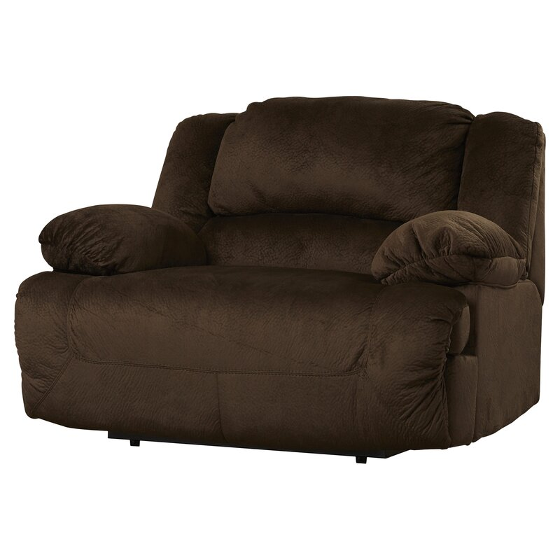Malta Wide Power Recliner  sc 1 st  Wayfair.com : super comfort recliner chaise - Sectionals, Sofas & Couches