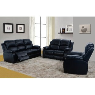 black leather living room sets you ll love