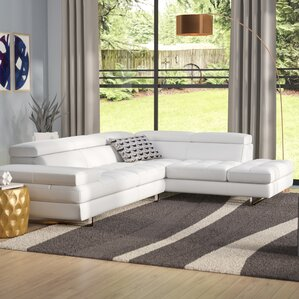Hugo Leather Reclining Sectional