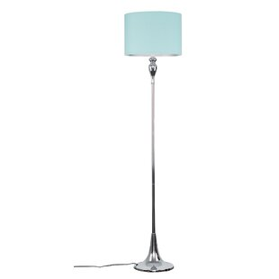 Teal floor lamp wayfair save mozeypictures Image collections