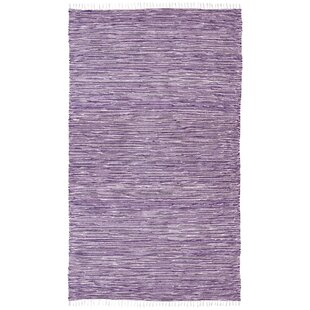 Best Reviews Bruges Purple Area Rug By Bungalow Rose