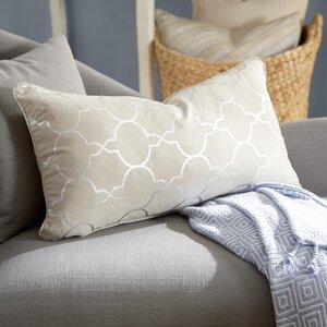 Salisbury Foil Tile Lumbar Pillow