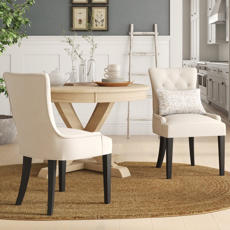 Grandview Upholstered Dining Chairs Set Of 2