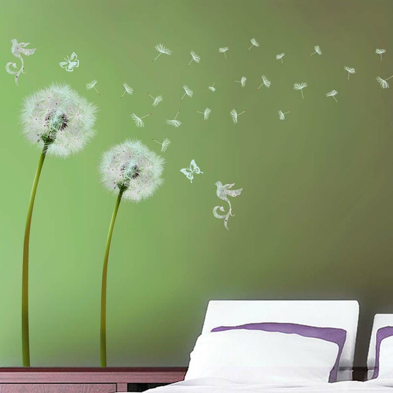 Perfect Dandelion Wall Decal