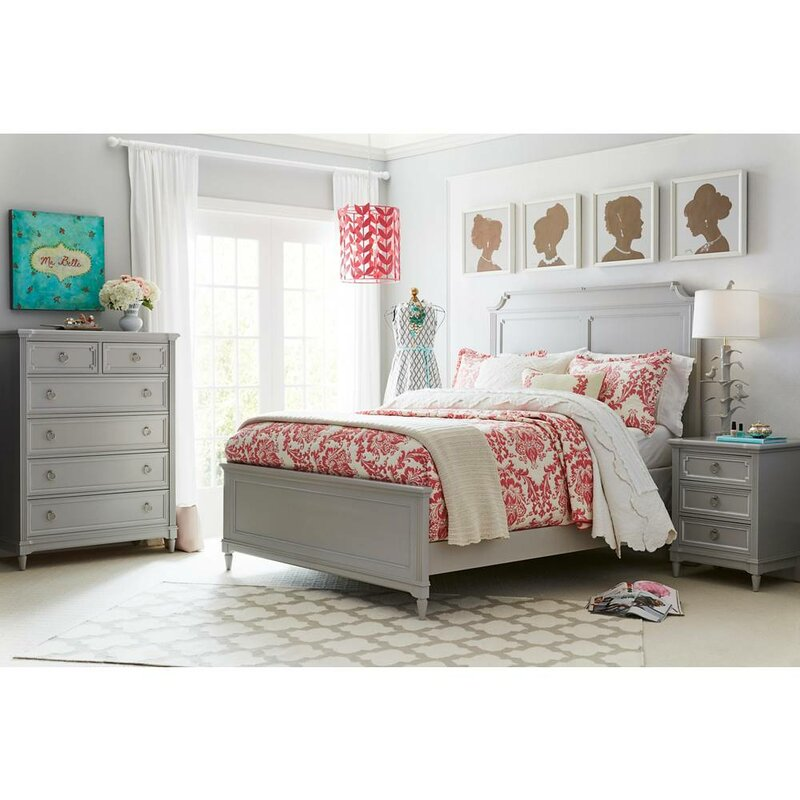 Stone & Leigh™ by Stanley Furniture Clementine Court Panel Bed ...