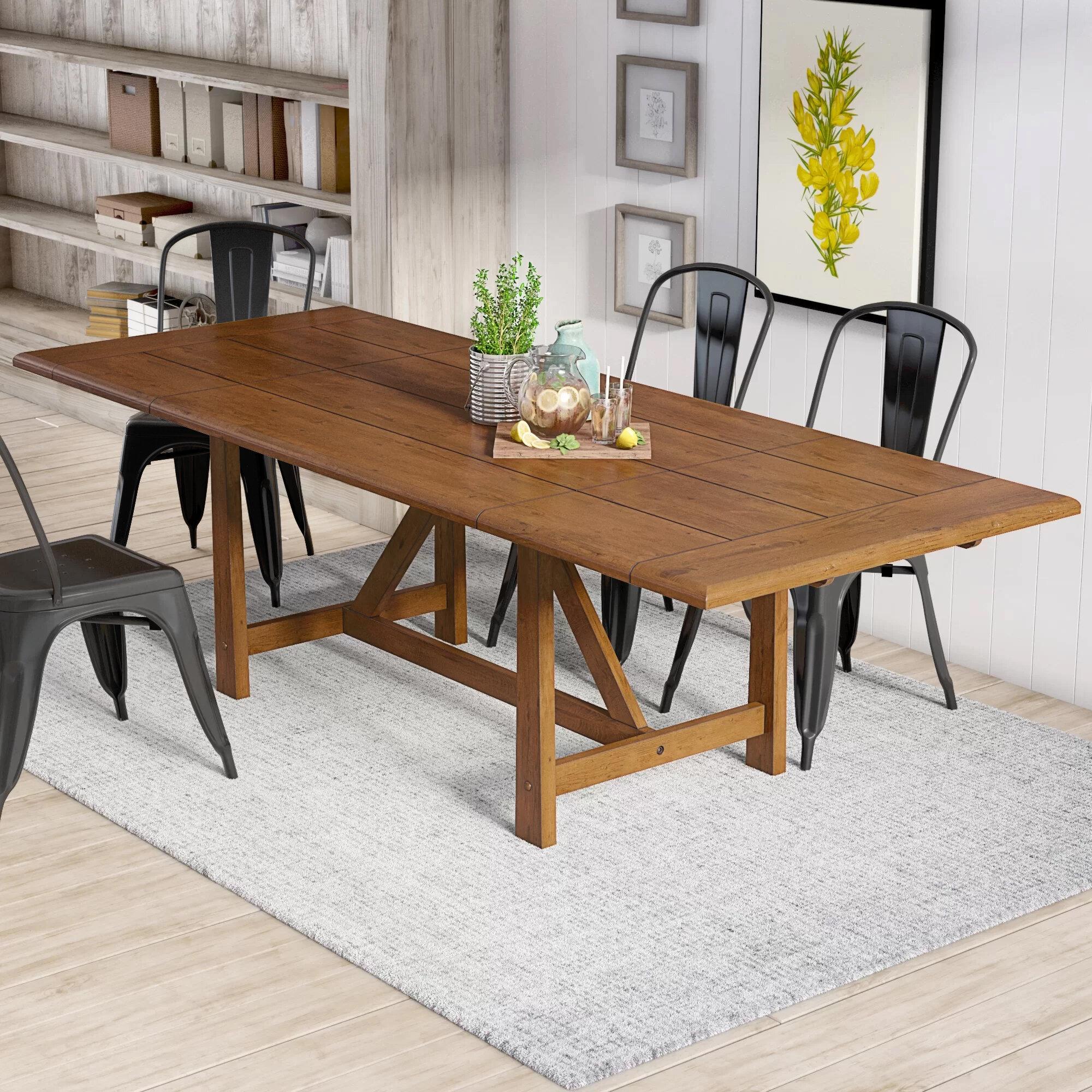 August Grove Clarissa Extendable Dining Table Reviews Wayfair