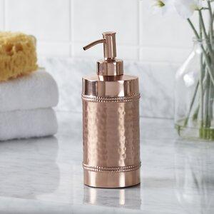 Hammered Copper Lotion Dispenser