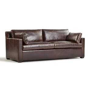 Verona Marius Genuine Leather Sofa by Westland and Birch