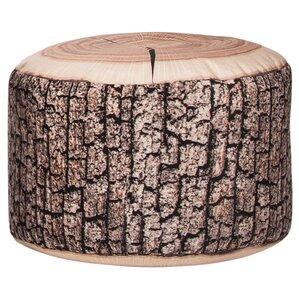 Dotcom Wood Ottoman by Sitting Point