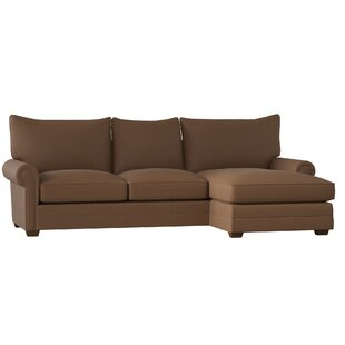 Sectional With Wood Trim Wayfair