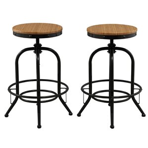 Adjustable Height Swivel Bar stool (Set o..