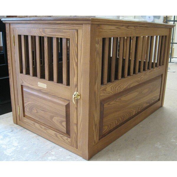 Elegant Classic Pet Beds Handmade Furniture Style Pet Crate U0026 Reviews | Wayfair