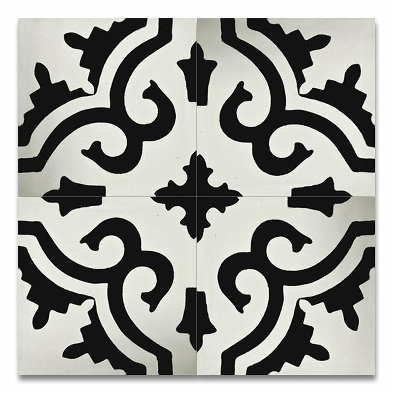 Moroccan Mosaic Tile House Tanger 8 X 8 Handmade Cement Tile In