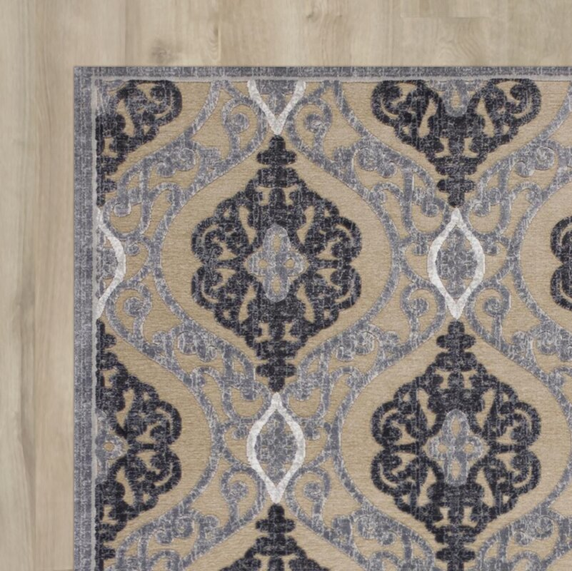 Amel Sand Gray Area Rug Amp Reviews Birch Lane