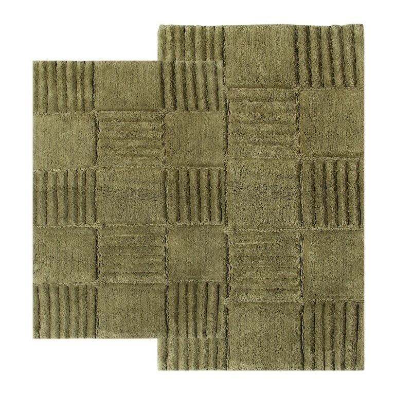 Checkered Bath Rug: Chesapeake Checkerboard Contemporary Bath Rug & Reviews
