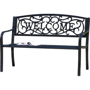Broder Cast Iron Garden Bench