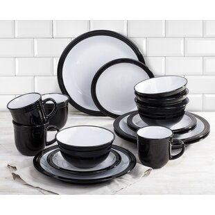 Black Dinner Sets  sc 1 st  Wayfair : black dinner plates set - pezcame.com