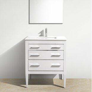 Albie 30u0027u0027 Single Bathroom Vanity Set