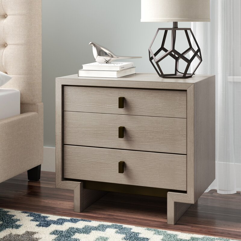 brayden studio keiper 3 drawer nightstand reviews wayfair rh wayfair com