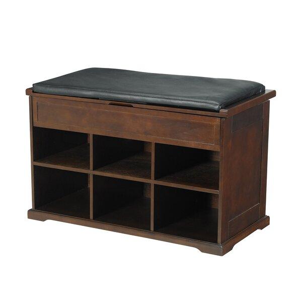 Charlton Home Barrentyne Shoe Storage Bench & Reviews