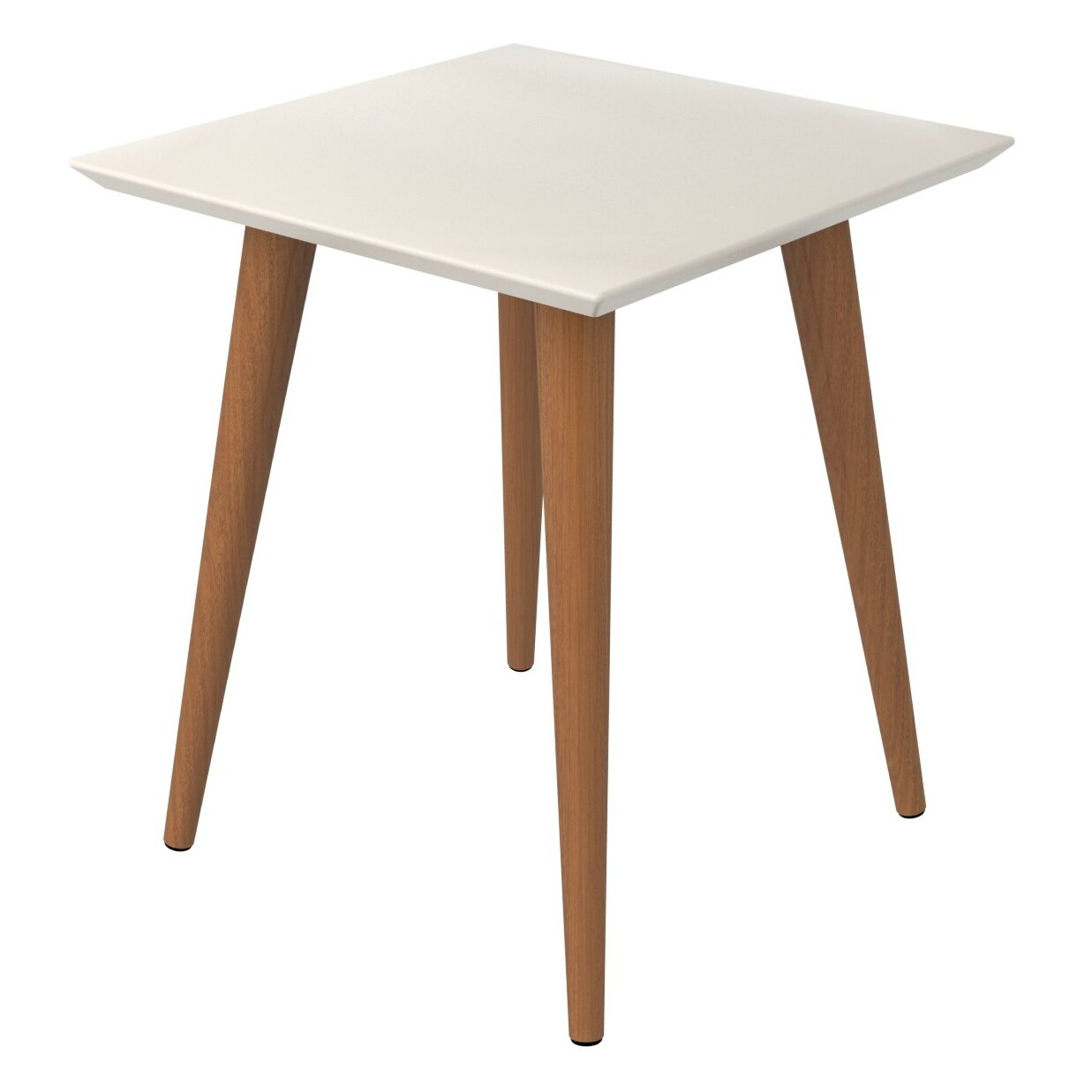 George Oliver Lemington End Table With Splayed Wooden Legs Reviews Wayfair