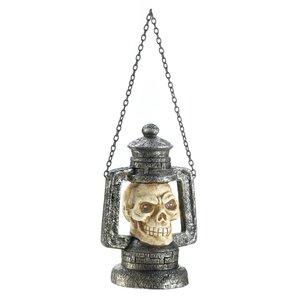 Skull Head Polyresin Lantern