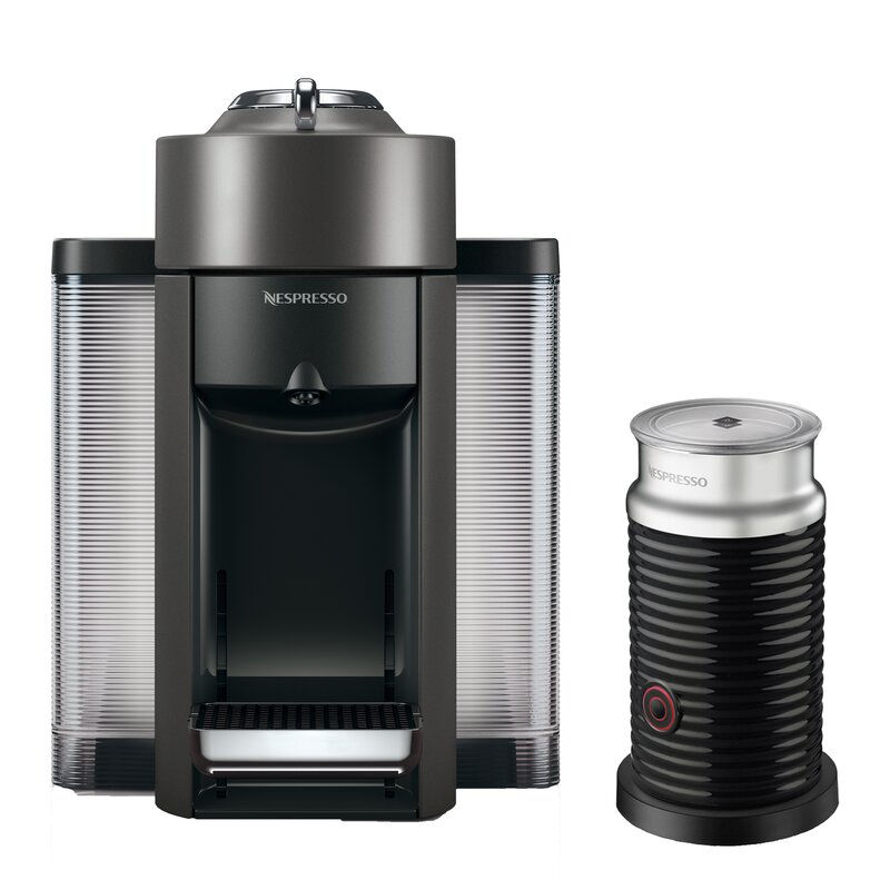 DeLonghi Nespresso Vertuo Coffee and Espresso Single-Serve Machine ...