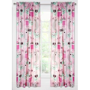 Superieur Night Owl Single Curtain Panel