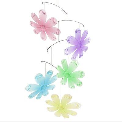 Flower Swirls Nylon Hanging Mobile Bugs-n-Blooms