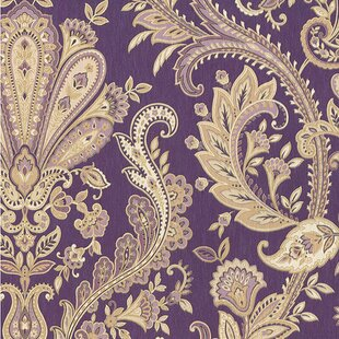 Purple Wallpaper Youll Love Wayfair