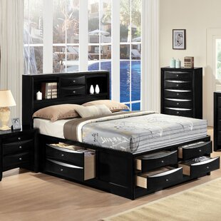 mallery queen storage platform bed - Queen Bedroom Frames