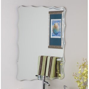 Bathroom Mirror You Look Fine rectangle mirrors you'll love | wayfair