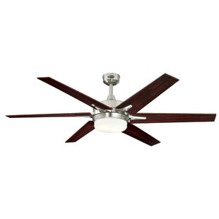 Satin nickel ceiling fans youll love satin nickel ceiling fans aloadofball Images