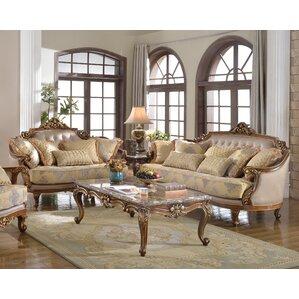 Traditional 2 Piece Living Room Set