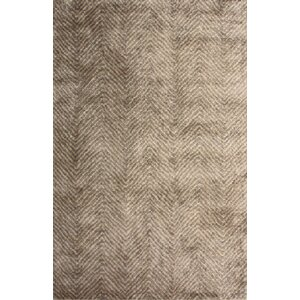 Picabo Hand-Woven Brown Area Rug