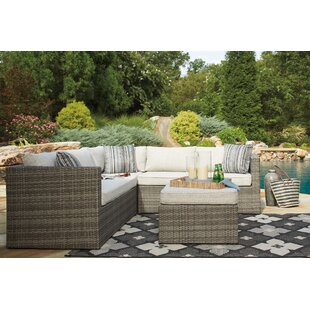 Captivating Woodstock Sectional With Ottoman