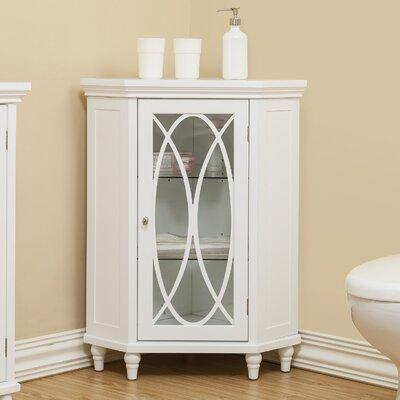 bourbon corner floor 2475 w x 32 h cabinet - Bathroom Cabinets Corner