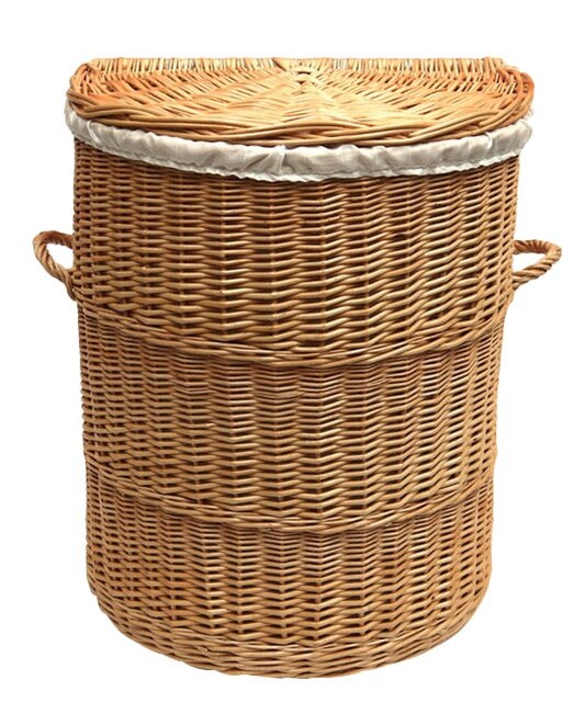 Prestige Wicker Half Wicker Laundry Bin & Reviews