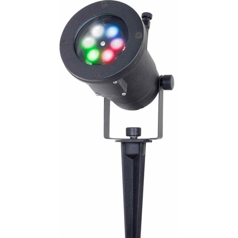 12-Pattern Motion Projection 4-Light LED Strobe Lights