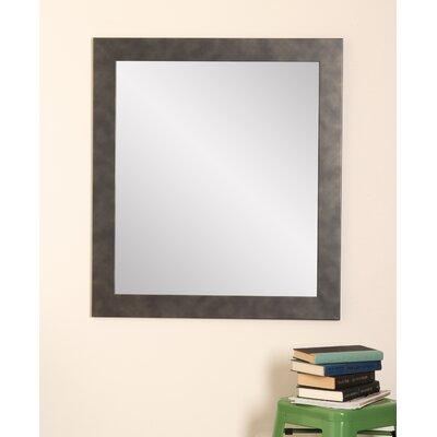 BrandtWorksLLC Clouded Gunmetal Wall Mirror Size: 55 H x 32 W x 0.19 D