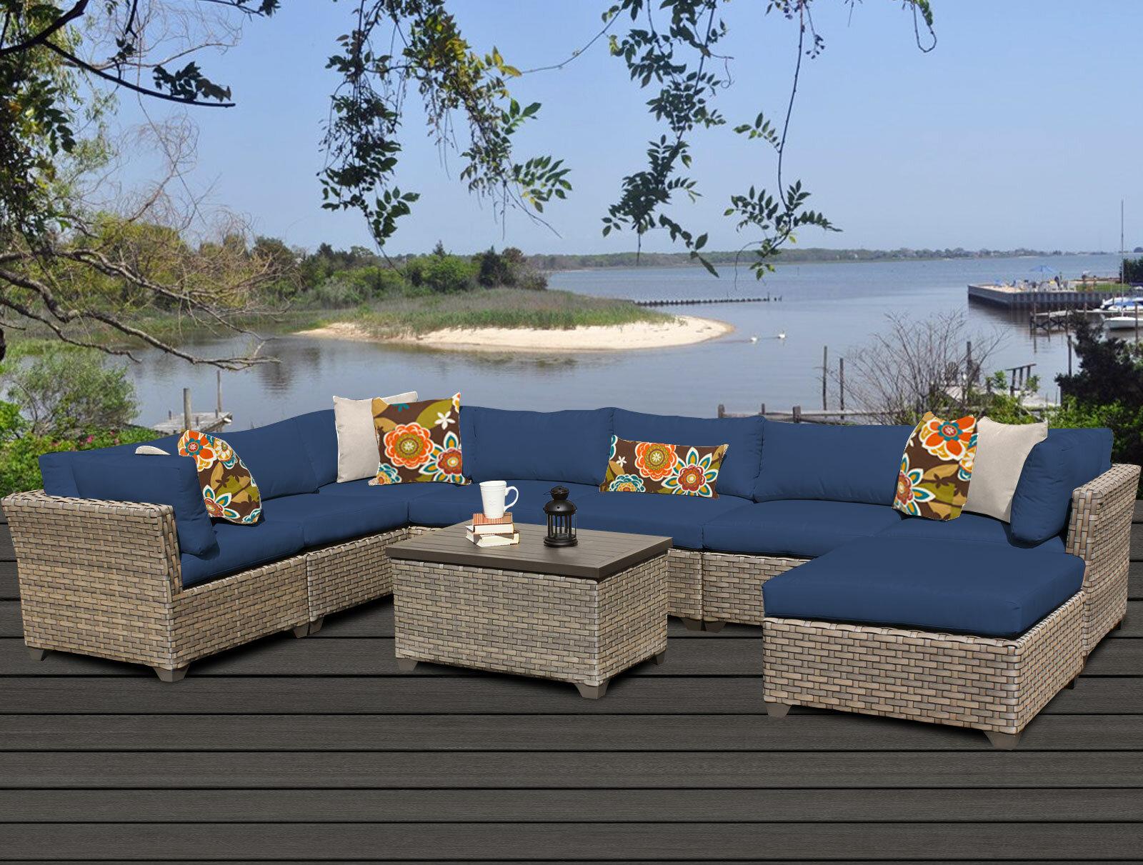 Phenomenal 9 Piece Outdoor Furniture Wayfair Download Free Architecture Designs Crovemadebymaigaardcom