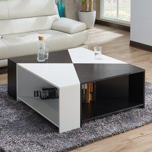 LaTeisha Contemporary Coffee Table by Orren ..