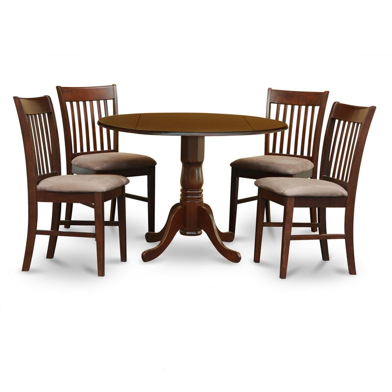 Charlton Home Gloucester 5 Piece Dining Set Reviews