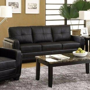 Garica Leatherette Sofa