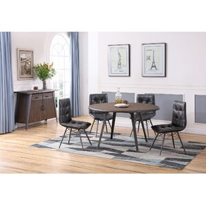 Bodesha 5 Piece Dining Set by 17 Stories