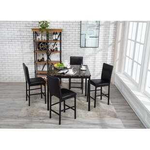 Espresso Kitchen & Dining Room Sets You\'ll Love | Wayfair