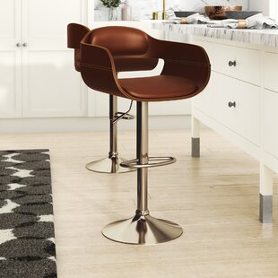 Alford Height Swivel Bar Stool By Hazelwood Home