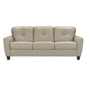 Annsville Leather Sleeper Sofa by Red Barrel Studio